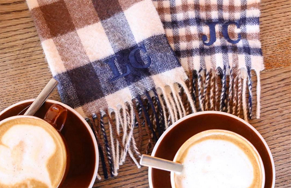 As Seen On: Iconic Club Check Scarves