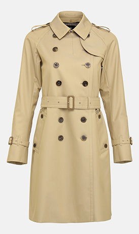 As Seen On: Timeless Trench Coats
