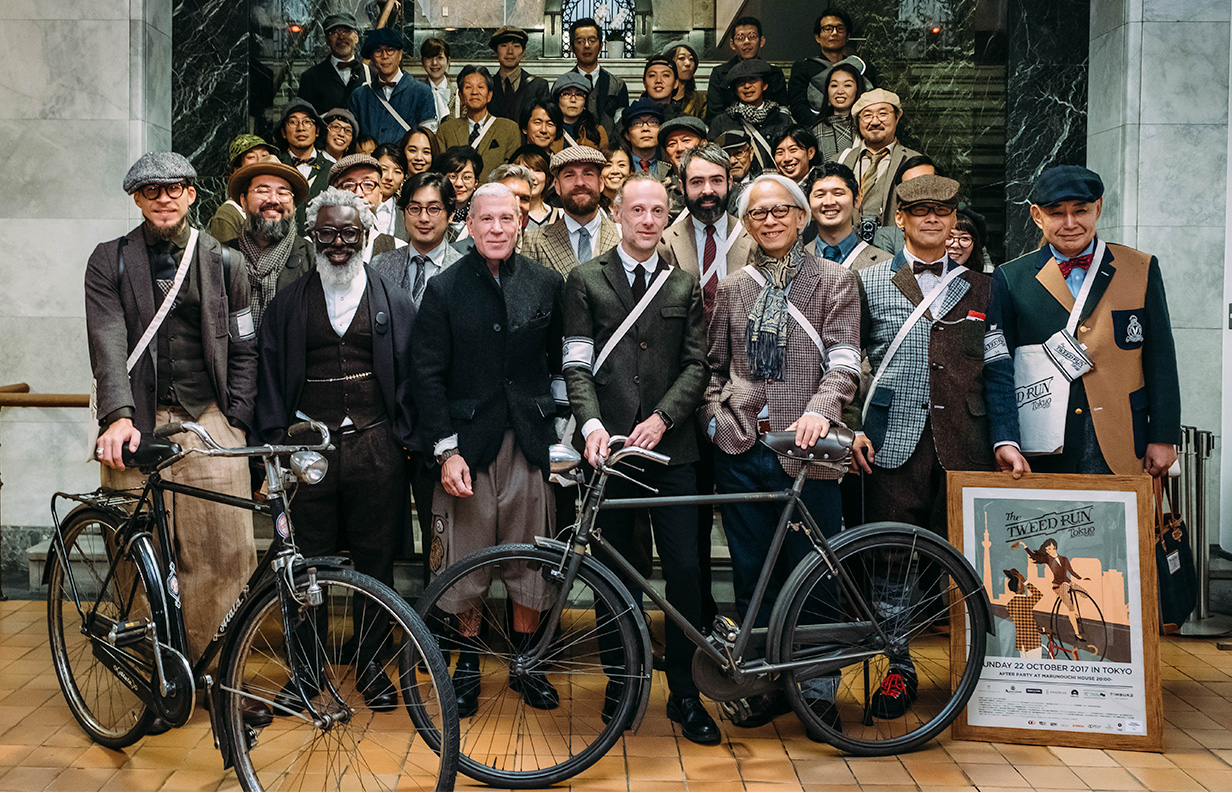 THE TWEED RUN TOKYO 2017 SECRET PARTY
