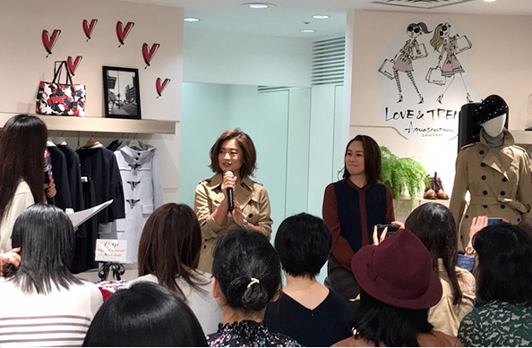 EVENT REPORT: TALK SHOW IN AQUASCUTUM WHITELABEL