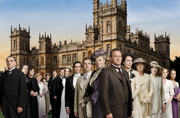 「DOWNTON ABBEY」×「AQUASCUTUM」  COLLABORATION PRESENT CAMPAIGN