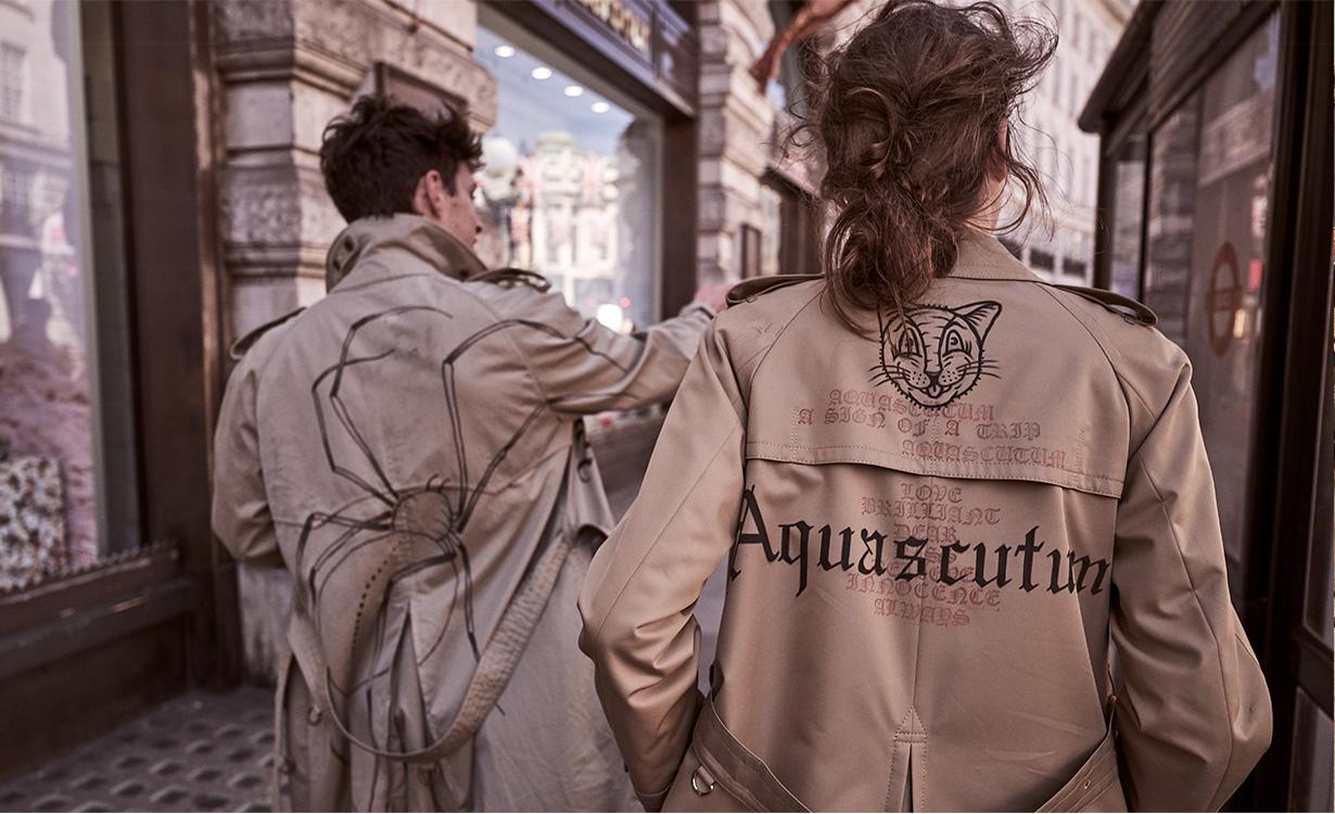 AQUASCUTUM ×『GQ JAPAN』CUSTOMISE EVENT