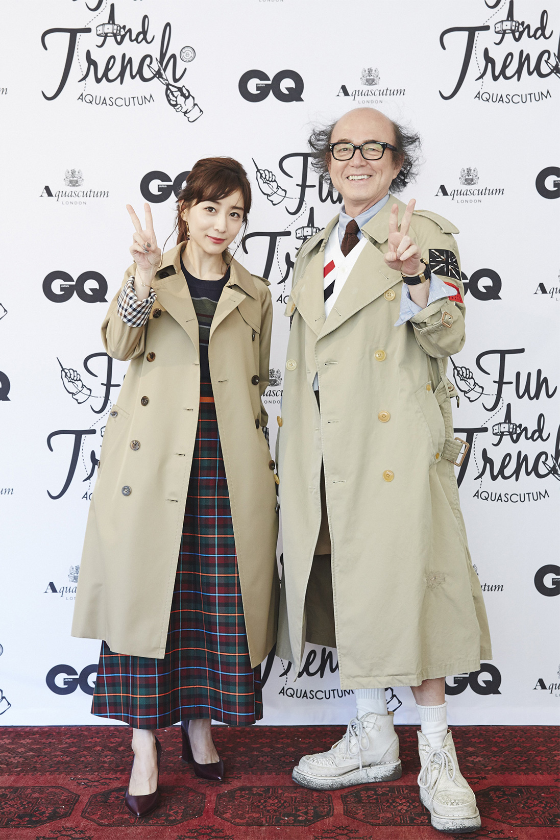 AQUASCUTUM ×『GQ JAPAN』CUSTOMISE EVENT