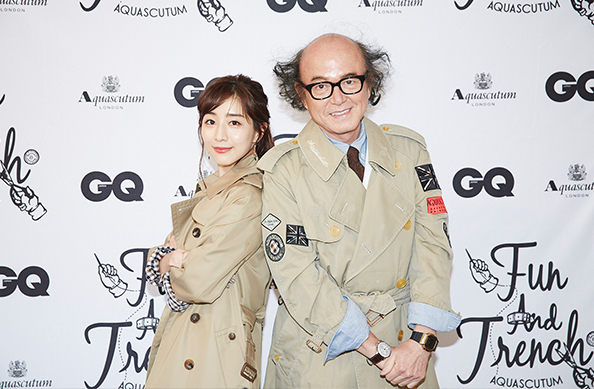 AQUASCUTUM×『GQ JAPAN』CUSTOMISE EVENT