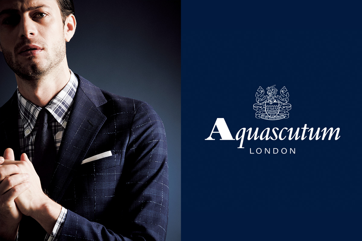 AQUASCUTUM STYLE FOR MEN