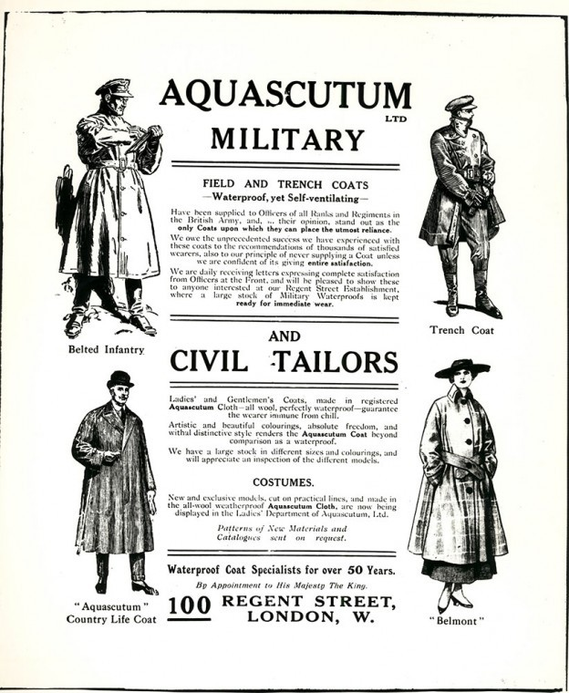 About Us: Aquascutum since 1851 photo