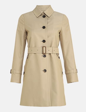SINGLE TRENCHCOAT MINI