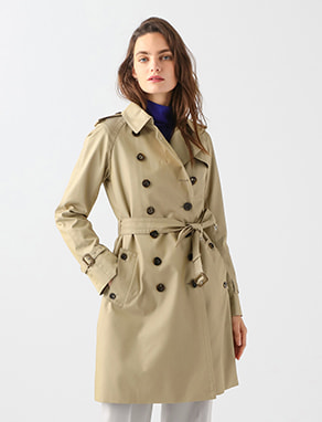 BASIC TRENCHCOAT SHORT