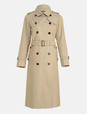 BASIC TRENCHCOAT MAXI